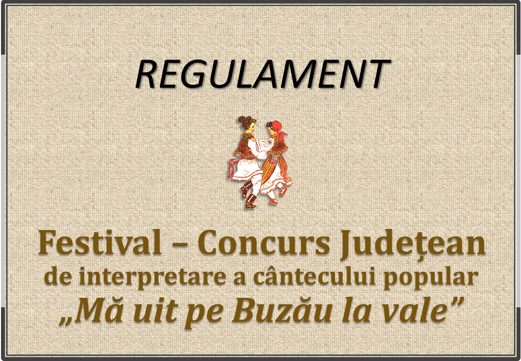 Regulament Buzau 2020