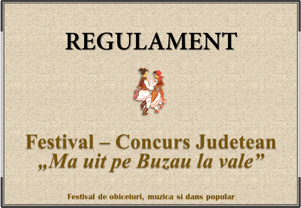 Regulament Buzau 2019